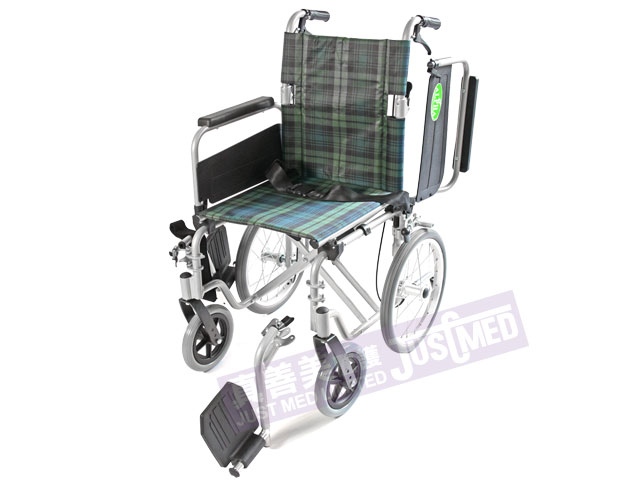 Alpha 鋁合金助推式輪椅 (2016SQH)