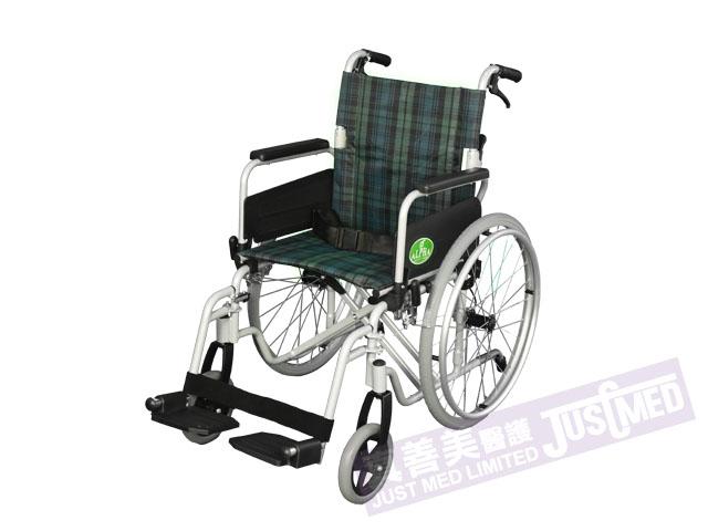 Alpha 鋁合金自助式輪椅 (綠色)