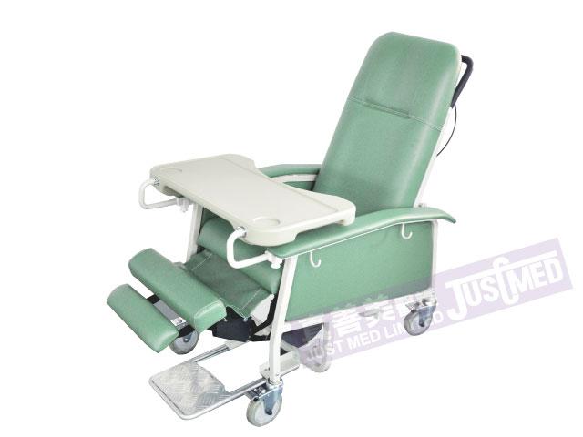 油壓傾斜高背椅(附活動式腳踏)