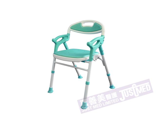 日式摺合式扶手靠背沐浴椅/沖涼椅